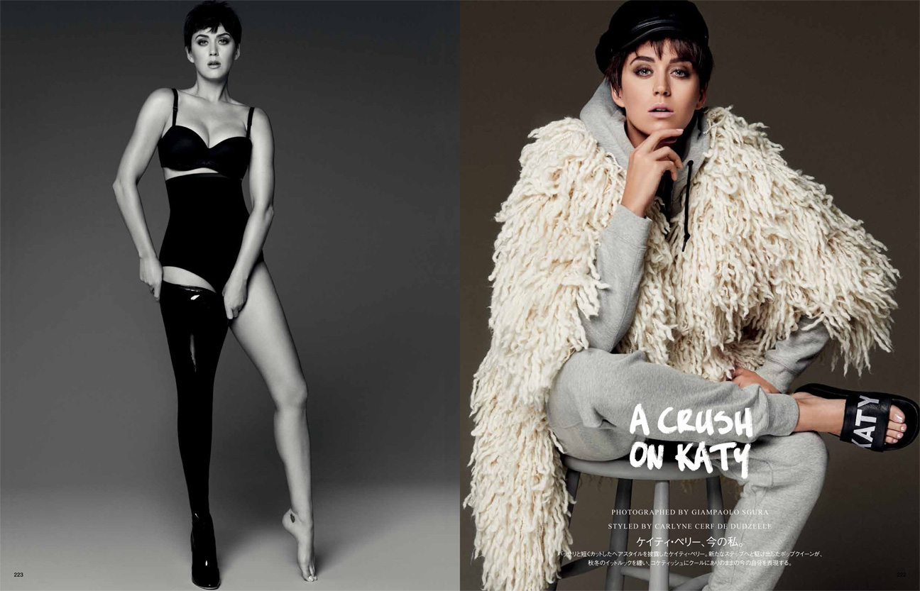 Watch Katy Perry Vogue Japan, September 2015 video
